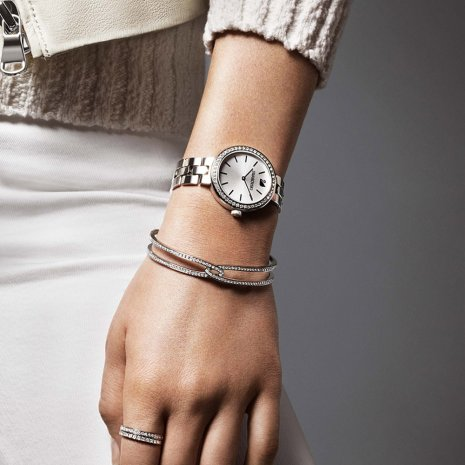 Swarovski watch silver